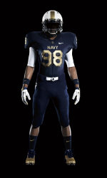 8d4f089888c Nike Releases Navy Football Uniform For The 2011 Army-Navy Game Presented  By USAA