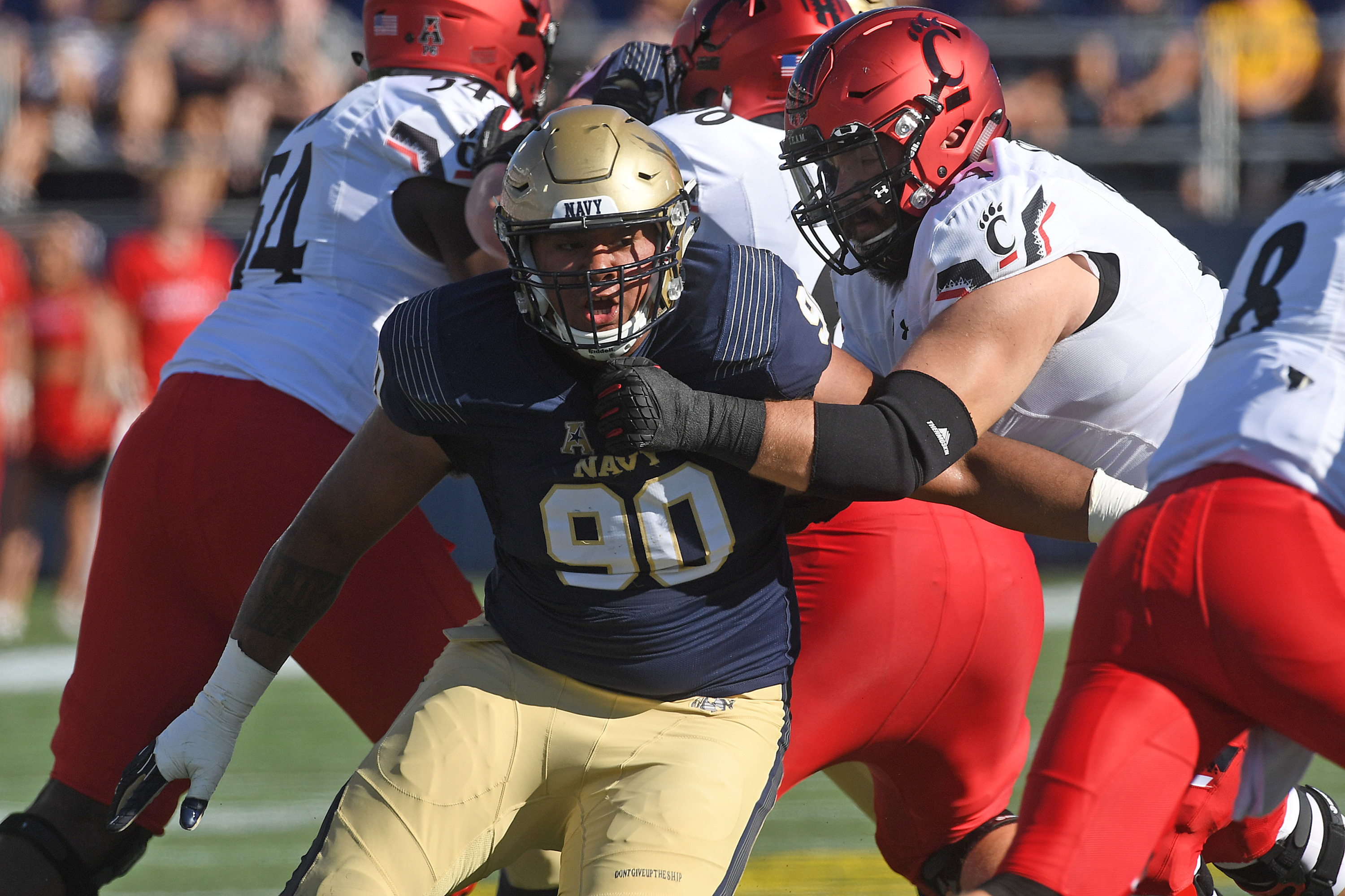 c4fa9c6b7 Navy Senior Defensive End Jarvis Polu on Watch List for the 2018 ...