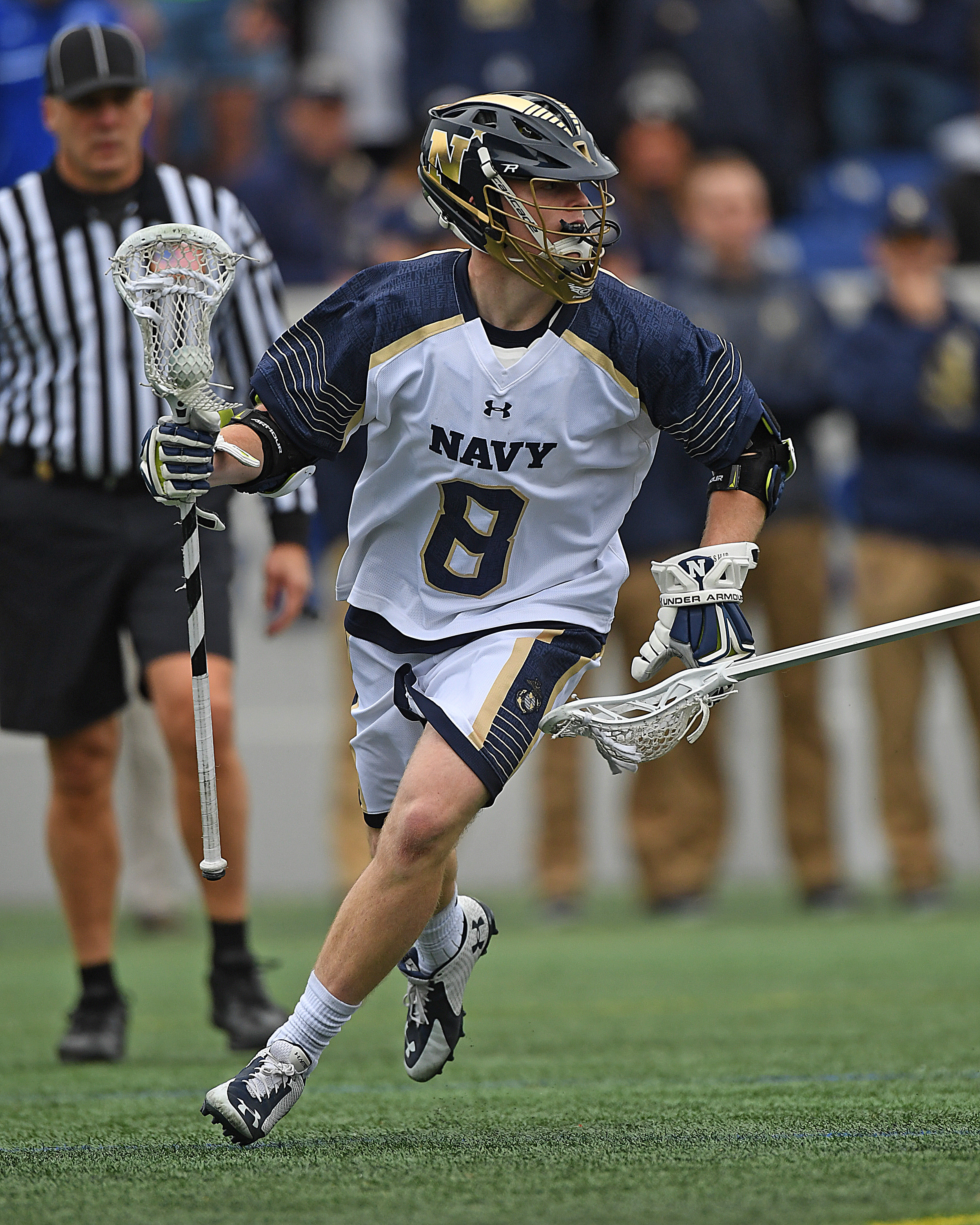 Navy Lax Bounces Back with 13-7 Win Over Bucknell - Naval