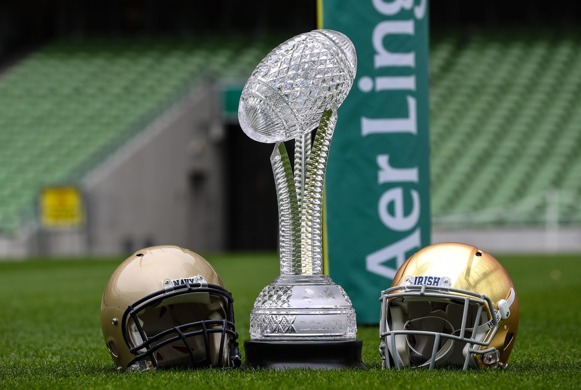 Nd Football Schedule 2020.2020 Navy Notre Dame Game To Be Played At Aviva Stadium In