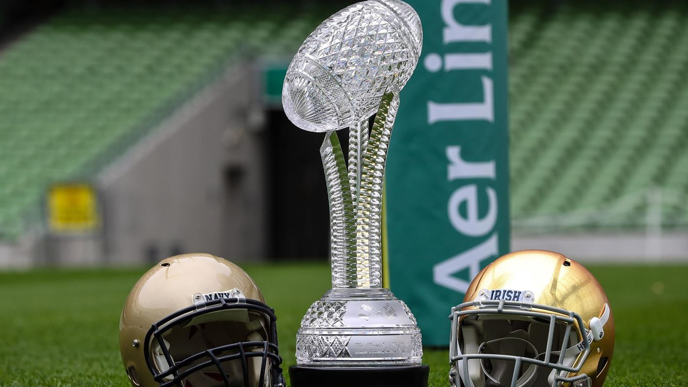 2020 Navy Football Schedule 2020 Navy Notre Dame Game to be Played at Aviva Stadium in Dublin