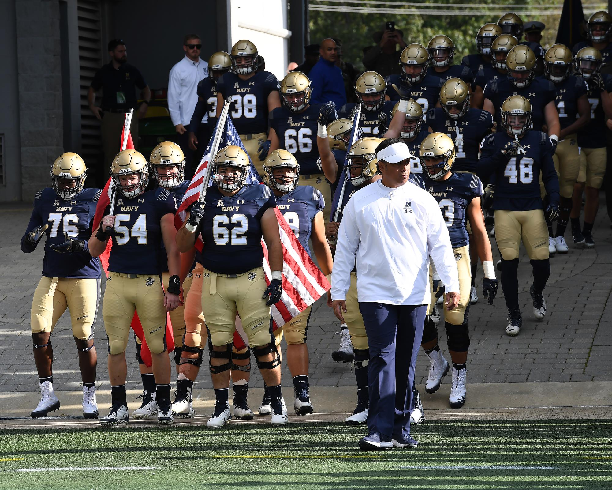 finest selection d4fc0 2544e Navy Football Seniors Receive Service Assignments - Naval ...