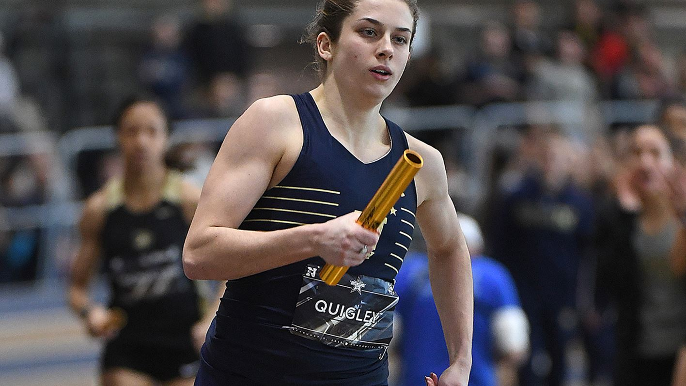 Track and Field Resumes Season at Princeton Duals - Naval Academy