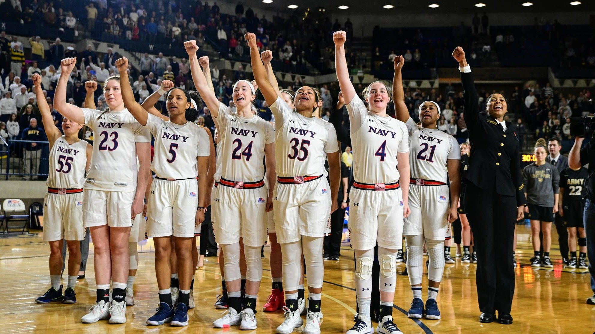 Ulasewicz Leads Navy to 12-Point Victory over Army, 57-45
