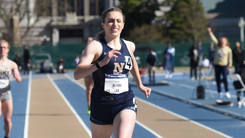 Track and Field Continues Outdoor Season at Home - Naval Academy Athletics